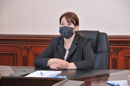 İradə Gülməmmədova bağça müdirləri ilə video konfrans keçirdi